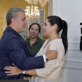 Melissa Martínez se reunió con el presidente Iván Duque