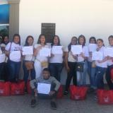 Mujeres y comunidad LGTBI reciben certificación del programa 'Belleza en tu casa' en Malambo
