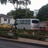 Protesta de trabajadores de buses causa retraso en rutas desde Malambo