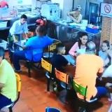 En video | Así fue el atraco a un restaurante de comidas rápidas en Cartagena