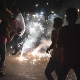 Las autoridades hacen un llamado a la ciudadanía para que eviten el uso de pólvora en el fin de año.