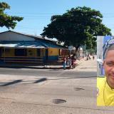 Sector por donde ocurrieron los hechos. En el recuadro, Jesús Reinaldo García Sepúlveda, la víctima.