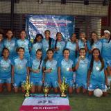 Club Kelis Peduzine reina en el asefal femenino