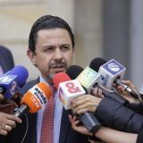 Miguel Ceballos, alto comisionado de paz.