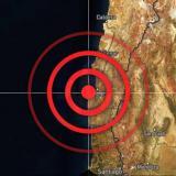 Fuerte sismo de magnitud 6,7 en Chile