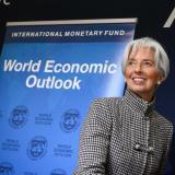 Lagarde, directora general del FMI.