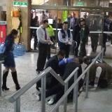 En video | Hombre muere en los Juzgados de Paloquemao esperando una ambulancia