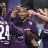 Cuarto gol de Muriel en goleada de Florentina a la Roma