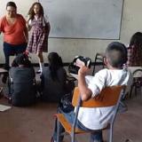 Con marcha, estudiantes exigen reparar colegio en Campeche