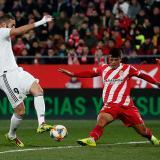 Real Madrid vence 3-1 al Girona y se mete en semifinales de la Copa