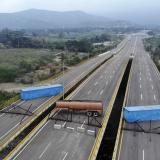 Puente Tienditas, en la frontera entre Cúcuta, Colombia, y Táchira, Venezuela.