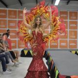Kelly Restrepo, reina del Carnaval de la 44.