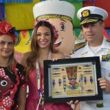 Carolina Segebre, proclamada como la nueva reina de los marinos