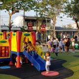 Alcalde Char inauguró segunda fase del parque Salcedo