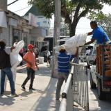 En video | La 44 'calienta' el ambiente para el desfile de Guacherna