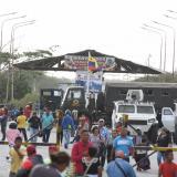 En video   Tanquetas y camiones del Ejército bloquean el paso en Paraguachón