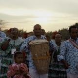 La agrupación Tambora de Arenal, una de las presentes en la Noche del Río.