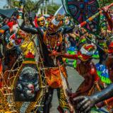 En el Sur, el Carnaval se despidió con la Conquista