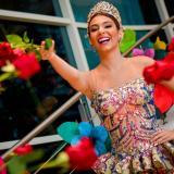 La reina Carolina Segebre lleva el Carnaval de Barranquilla a Miami en Estados Unidos