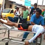 En video | Enfrentamiento a bala en Rebolo deja dos personas heridas