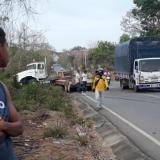 Muere motociclista tras ser embestido por tractocamión en vías de Montería