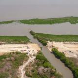 Por sedimentación, advierten bloqueo en caño Las Compañías