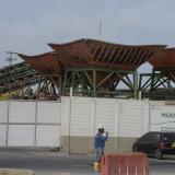 Parte de la fachada de la empresa Monómeros Colombo Venezolanos ubicada en la Vía 40 en Barranquilla.