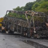 La 'carretera de la muerte' en La Guajira