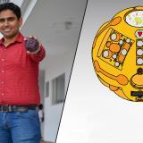 Una esfera para rescatar personas con sello barranquillero