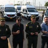 En video   Char entrega 25 camionetas a la Policía para reforzar seguridad en Barranquilla