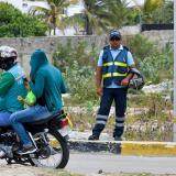 Puerto regula tránsito de motocicletas por el corredor universitario