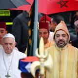 """El Papa arribó a Marruecos, tierra de """"islam moderado"""""""