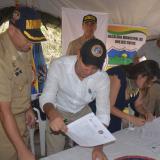 Dieciséis zonas veredales libres de minas en Ovejas y Chalán, Sucre