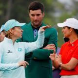 Leyendas de LPGA lanzan ronda femenina histórica en Augusta National