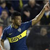 Frank Fabra vuelve a jugar un partido oficial con Boca Juniors