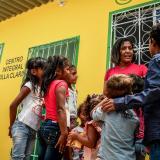 Abren centro de nutrición en Palermo para 200 personas