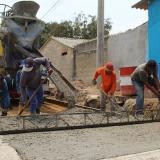 En un 80% avanza construcción de vía canal y alcantarillado en el barrio la Esperanza, en Malambo