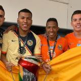 Cuatro colombianos campeones en la Copa MX con América