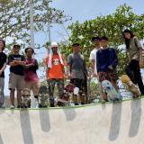 Los skaters se cotizaron con el Parque Venezuela