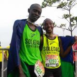keniatas barrieron en la Media Maratón