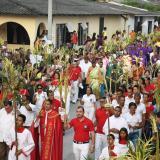 En video | Con velas y banderas Sabanalarga recibió la Semana Santa