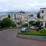 La calle Lombard en San Francisco.