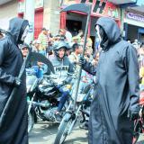 Teatro en la calles de Maicao para evitar accidentes