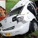Mueren en accidente vial cuatro de una  misma familia