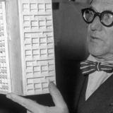 El arquitecto y teórico suizo Le Corbusier.