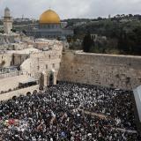 El Muro de las Lamentaciones, igual que la ciudad vieja que lo rodea, está situado en Jerusalén Este.