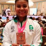 Shanee Torres, bronce en Open de karate en EEUU
