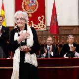 Ida Vitale, poeta uruguaya ganadora del Premio Cervantes 2018.