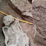 Imagen de los hallazgos realizados por los expertos en Bolivia.