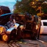 Grave accidente en Medellín: 10 vehículos involucrados, tres muertos y 9 heridos